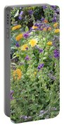Flowers In Charlottenburg Palace Garden Portable Battery Charger