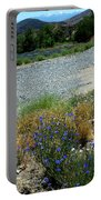 Flowers In The Gold Hill Desert Portable Battery Charger