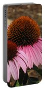 Coneflowers Portable Battery Charger