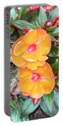 Flowers Plastic Or Real  Portable Battery Charger