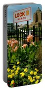 Flowerscape  Portable Battery Charger