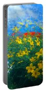 Flowery Sky Portable Battery Charger