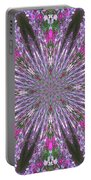 Flowery Snow Flake Portable Battery Charger