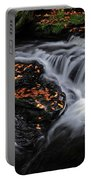 Flowing Through Fall Color Portable Battery Charger