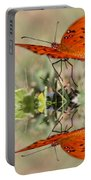 Fluttering Reflections - Butterfly Portable Battery Charger