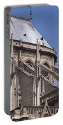 Flying Buttress At Nortre Dame Cathedral Portable Battery Charger