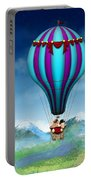 Flying Pig - Balloon - Up Up And Away Portable Battery Charger