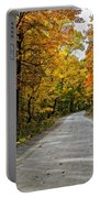 Follow The Yellow Leafed Road Portable Battery Charger