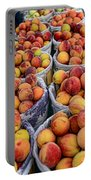 Food - Harvested Peaches Portable Battery Charger