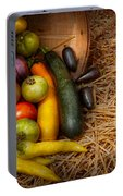 Food - Vegetables - Very Early Harvest Portable Battery Charger