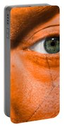 Football Scars Portable Battery Charger by Semmick Photo