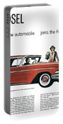 Ford Cars: Edsel, 1957 Portable Battery Charger