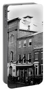 Fords Theater - After Lincolns Assasination - 1865 Portable Battery Charger