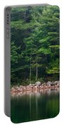 Forest At Jordan Pond Acadia Portable Battery Charger