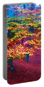 Forest Color Leaves Portable Battery Charger