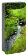 Forest Creek In Newfoundland Portable Battery Charger