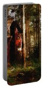 Forest In Fall Portable Battery Charger