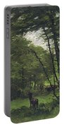 Forest Of Fontainebleau Portable Battery Charger