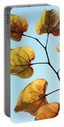 Forest Pansy Autumn Portable Battery Charger