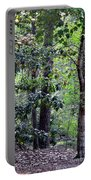 Forest Trees Portable Battery Charger