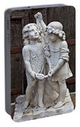 Forgotten Statue Portable Battery Charger
