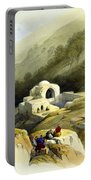 Fountain Of Job Valley Of Hinnom Portable Battery Charger