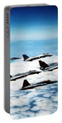 Four F-14 Tomcats And Three F-5 Tiger Portable Battery Charger