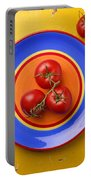 Four Tomatoes  Portable Battery Charger