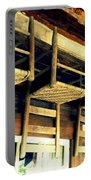 Four Wooden Chairs Portable Battery Charger