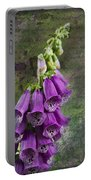 Foxglove Digitalis - Love  And Christ Portable Battery Charger