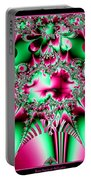 Fractal 12 Candycane Jester Portable Battery Charger