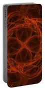 Fractal Image Portable Battery Charger