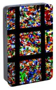 Fractured Squares Portable Battery Charger