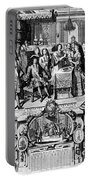France: Baptism, 1704 Portable Battery Charger