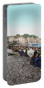 France: Resort, C1895 Portable Battery Charger