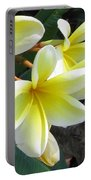 Frangipani Up Close Portable Battery Charger