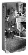 Frank Harris (1854-1931). American Writer Born In Galway, Ireland Portable Battery Charger