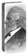 Frederick Douglass (c1817-1895). American Abolitionist. Wood Engraving, American, 1877 Portable Battery Charger