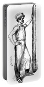 French Abolitionist, 1850s Portable Battery Charger