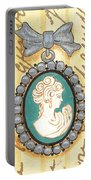 French Cameo 1 Portable Battery Charger by Debbie DeWitt