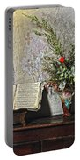 French Church Decorations Portable Battery Charger