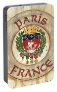 French Coat Of Arms Portable Battery Charger