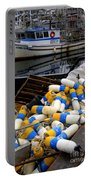 French Creek Trawlers Portable Battery Charger by Bob Christopher
