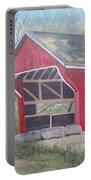 French Lick Covered Bridge Portable Battery Charger