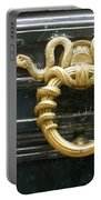 French Snake Doorknocker Portable Battery Charger