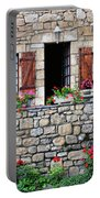 French Stone House Portable Battery Charger
