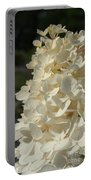 French Vanilla Hydrangea Portable Battery Charger