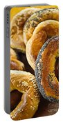 Fresh Bagels Portable Battery Charger