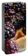 Fresh Blackberry Waffles Portable Battery Charger