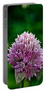 Fresh Chives Portable Battery Charger